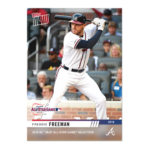 2019 Topps todo-Star Freddie Freeman NOW Atlanta Braves