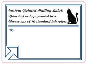 10 000 shipping labels custom printed business mailing stickers 1