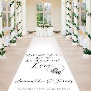 Wedding Venue Decorations 20ft 60ft Personalised Wedding Aisle Runner Church Venue Carpet Decoration Home Furniture Diy Alpan Com Mk