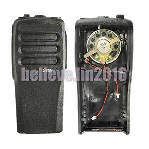 New-Black-Replacement-case-Houisng-For-Motorola-CP200D-radio-with-speaker-amp-Mic
