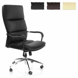 Sedia per ufficio sedia girevole poltrona direzionale sedia XXL ALTA SCHIENALE Brunello 20 HJH Office