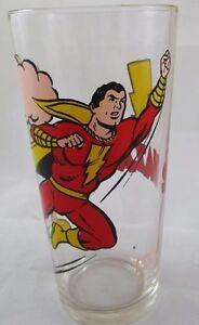 1978-Shazam-Capt-Marvel-Pepsi-Glass-DC-Comics-Old-Stock-Mint-glass-unused-NOS