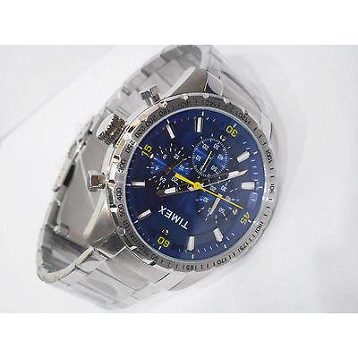 TIMEX Classy Multi Function Chrono Steel Chain Sports Watch for Mens TWEG15603