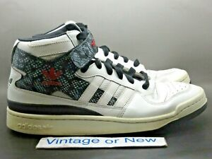 Men-039-s-Adidas-Forum-Mid-Year-of-The-Snake-Basketball-Shoes-G65717-sz-11