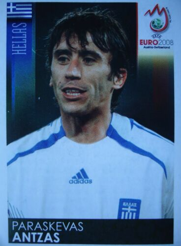 Panini 369 Paraskevas Antzas Griechenland UEFA Euro 2008 Austria Switzerland