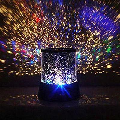 Romantic Star Master Light Night Starry Sky Lighting Projector LED Lamp Kid Gift