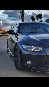 Details Zu Led Angel Eyes E92 E93 Halo Rings For Bmw 3 Series Headlights Dtm Style