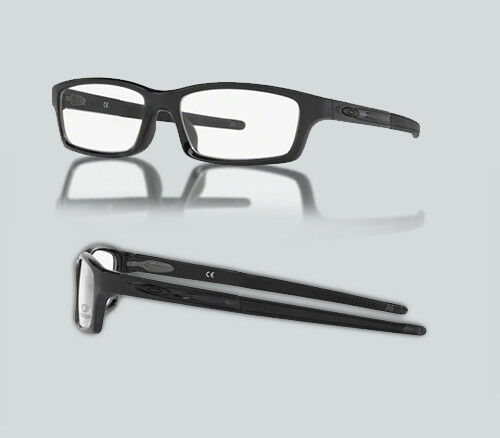 aa7670c0147 Oakley Ox 8037 Crosslink Pitch 803721 Satin Black Eyeglasses for sale  online