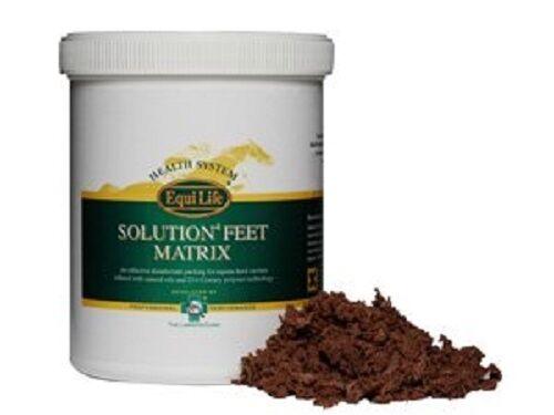 Lösung 4 Füße Matrix 600g bei der Behandlung von Horninfektionen bei Pferden
