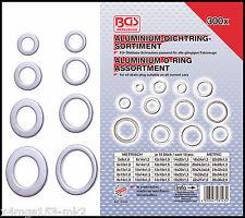 BGS - Aluminum Seal Washers Drain Plugs Etc 300 Pcs - Pro Range - 8143