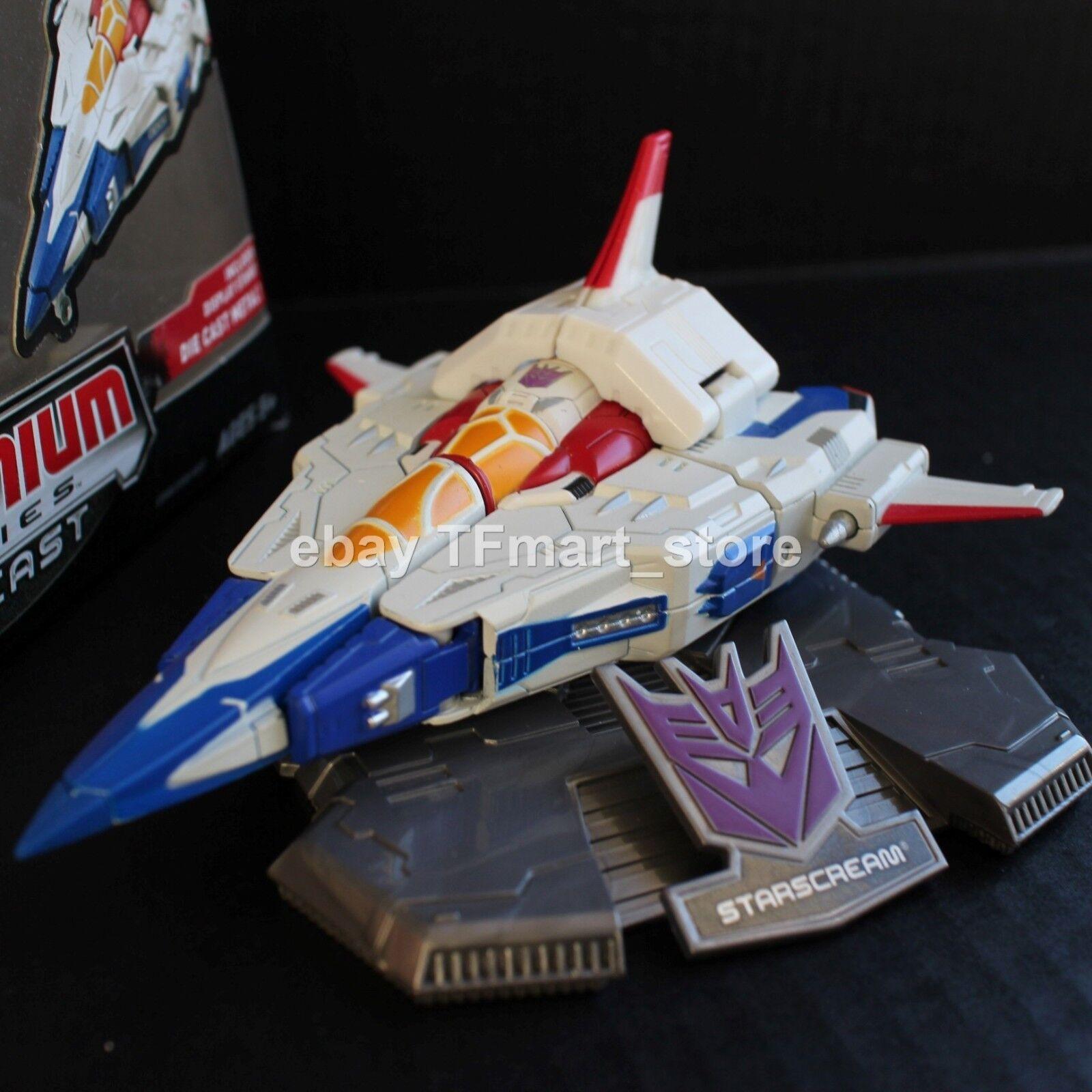 Transformers Titanium 6   Séries Cybertron Starscream Moulage sous Pression Par