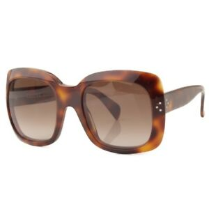 73461fdfa2e Image is loading AUTHENTIC-CELINE-SUNGLASSES-41803-BROWN-GRADE-B-USED-