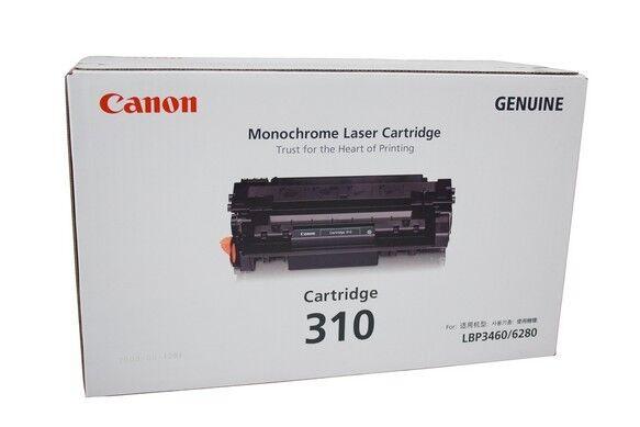 New Genuine Canon CART 310 Black Toner Cartridge for LBP-3460 LBP-6280 CART310