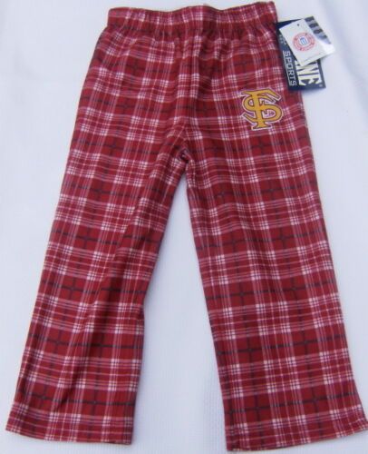 FSU Florida State University Seminoles Boys lounge Pajama PJ Pants size 4  5//6