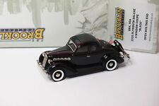 BROOKLIN BRK 90A 1935 PLYMOUTH DELUXE 3 WINDOW COUPE BLACK 1/43