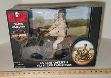 GI Joe 12in Army Courier WLA 45 Harley Davidson 35 Anniversary 1998 MIB #3
