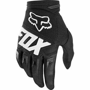 2019 Fox Racing Dirtpaw Czar Gloves-Black//Yellow-M