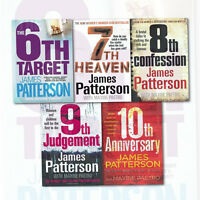 James Patterson's Collection 5 Books Set Women's Murder Club Series 6 to10 Pack