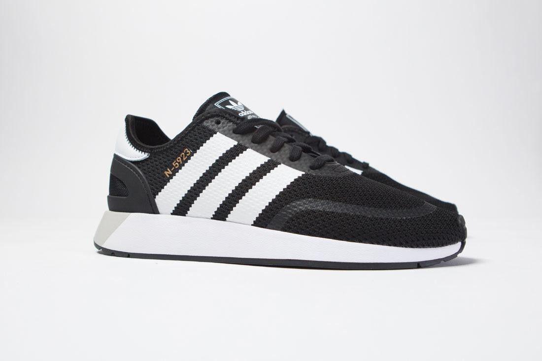 CQ2337 Adidas Men Iniki Runner N-5923 black footwear white grey one
