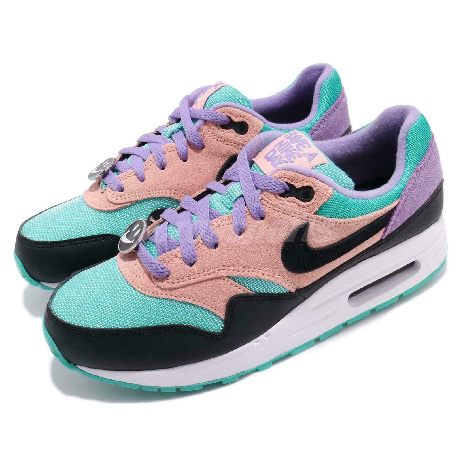 Nike Air Max 1 GS Kids Youth Womens Running Running Running shoes Classic Sneakers Pick 1 909431
