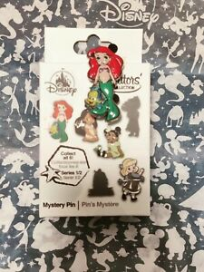 Disney Animators Collection Mystery Pin Series 1 Belle 2020 with Box