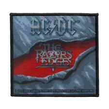 AC/DC Patch THE RAZORS EDGE Aufnäher ♫ Heavy Metal ♪ Rock and Roll ♫ ACDC