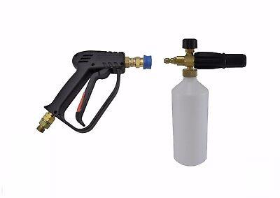 """Compacto de liberación rápida 11.6 Mm lavado Pistola,700 mm Lance /& Nieve Espuma lanza de 3//8 /""""M entrada"""