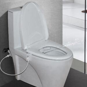 Bidet for Toilet Sprayer Kit Handheld Bidet Toilet Attachment ABS Sprayer Valve