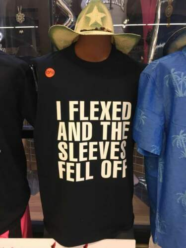 NEW I FLEXED AND THE SLEEVES FELL OFF Black Sleeveless T-shirt Muscle Tank