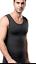 REGNO Unito petto piatto addominali palestra Pancia Shaper Gilet Formazione Camicia Da Uomo Nuovo GS