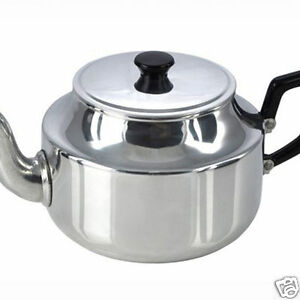 Pendeford-Traditional-Vintage-Retro-Polished-Aluminium-Teapot-6-or-9-Cup