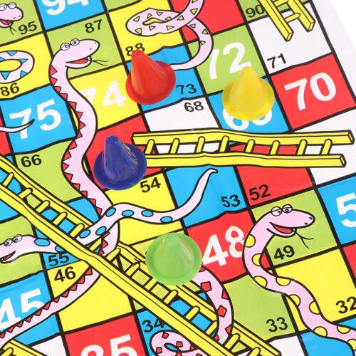 Snake Ladder Educational Kids Children Toys Family Interesting Board Game giftsT