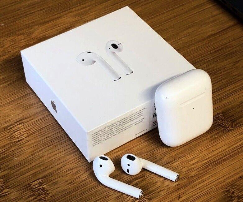 trådløse hovedtelefoner, Apple, Airpods 2. generation