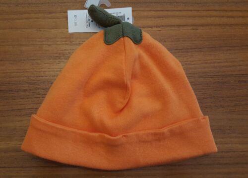 Old Navy Infant Baby 0-6 6-12 12-24 Pumpkin Cap HALLOWEEN Hat Boy Girl #45118