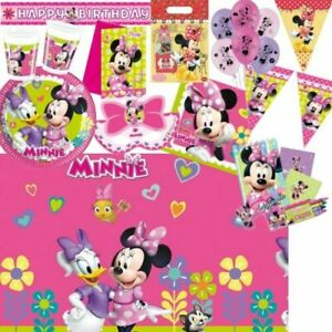 Minnie-Mouse-Party-Supplies-Tableware-Balloons-amp-Decorations