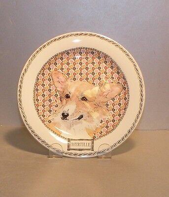 NEW  Bread & Butter Plate Myrtille from Darling Dog pattern GIEN,  France