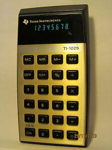 RETRO-Texas-Instruments-TI-1025-CALCULATOR