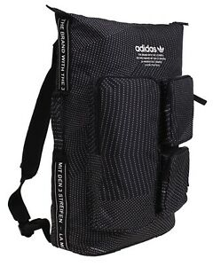 Adidas NMD Backpack Bags Sports Black Unisex Running School Casual ... e6e38a9370463