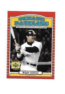 Verzamelkaarten: sport 2001 Upper Deck Decade 1970's Dynasties #D10 Reggie Jackson New York Yankees