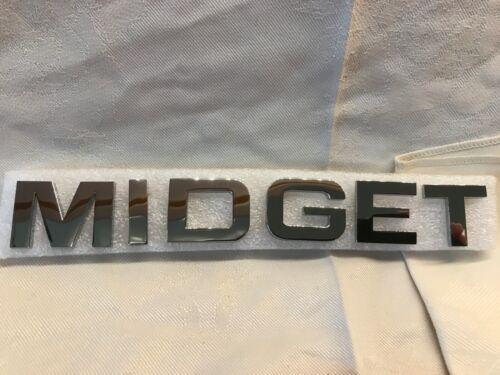 Original O//E Supply MG Midget Sill Badge Kit Concours//Show Spec 18G8761 18G8761K