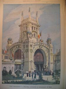 LIEGE-EXPOSITION-UNIVERSELLE-CENDRES-AMIRAL-JONES-JOURNAL-LE-PETIT-PARISIEN-1905