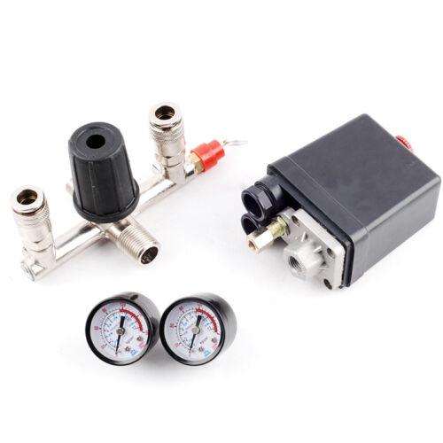 For Kompressor Druckwächter Kompressorschalter Druckregler mit Druckschalter
