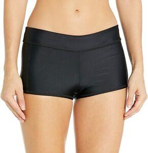 Speedo-Women-039-s-Swimsuit-Bottom-Boyshort-Length-Size-Medium