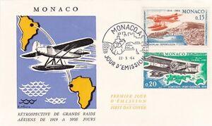 Monaco 1964 50th anniv of 1st Monte Carlo Aerial Rally Set of 8 FDC VGC - Dartford, Kent, United Kingdom - Monaco 1964 50th anniv of 1st Monte Carlo Aerial Rally Set of 8 FDC VGC - Dartford, Kent, United Kingdom