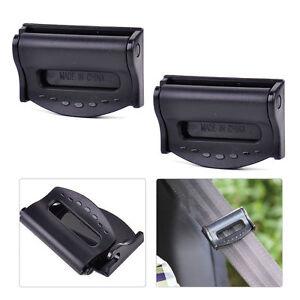 2x-Auto-Sicherheitsgurte-Clip-Verstellbar-Stopper-Gurtschnalle-fuer-VW-Audi-BMW