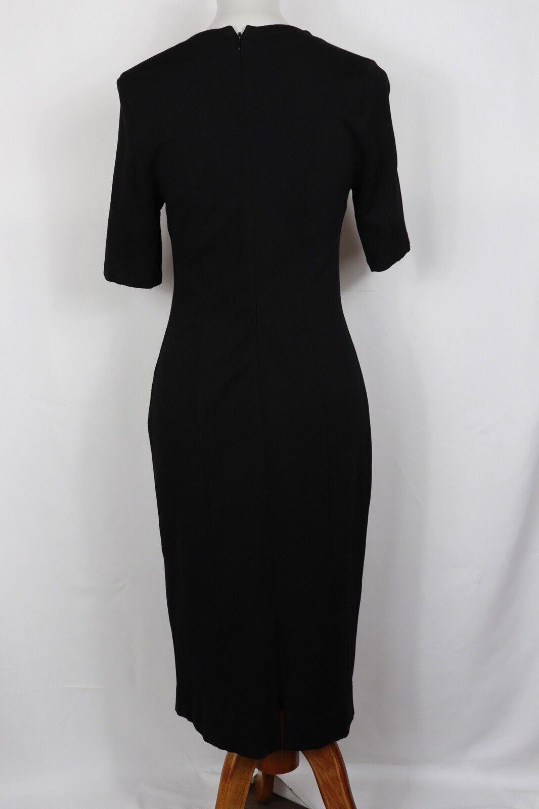 CAbi Style #3101 Claire V Neck Dress Ponte Knit B… - image 3