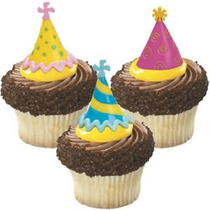 Cake Decorating Cupcake Toppers Picks - Birthday Party ...