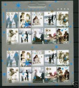 Nederland-NVPH-2296-05-Vel-Decemberzegels-2004-Postfris