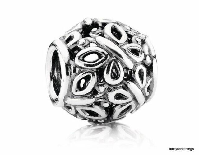 NEW/TAGS  AUTHENTIC PANDORA SILVER CHARM BUTTERFLY GARDEN #790895