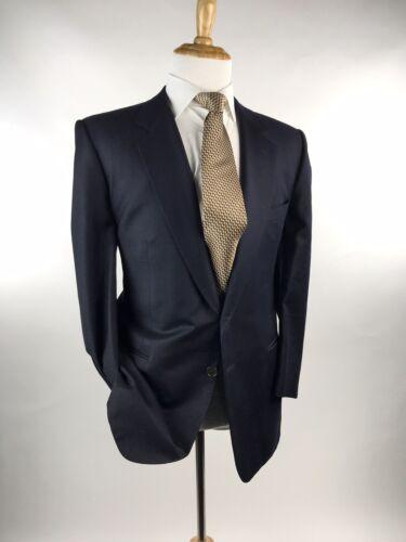 Ermenegildo Zegna 2 Btn Pic-Stitched Sport Coat Bl